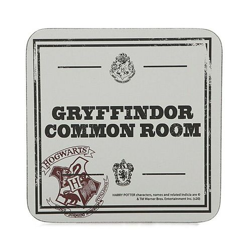 Harry Potter Gryffindor Common Room Single Coaster Drinks Mat